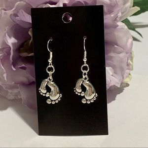 Dangling Feet Fashion Earrings